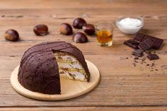 Recette Zuccotto à la crème de ricotta et aux châtaignes et encore plus de recettes sur http://www.ilgustoitaliano.fr/