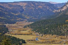 Conejos Valley with Fall Colors