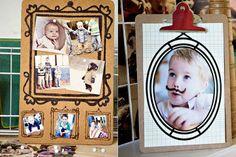 17. Dry Erase Photo Frames