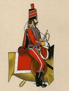 Húsares Españoles 1808 Trompeta