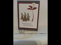 Wise men from afar card stampin up 2017 holiday catalog - YouTube