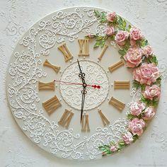 1 million+ Stunning Free Images to Use Anywhere Plaster Crafts, Plaster Art, Handmade Wall Clocks, Unique Wall Clocks, Clock Painting, Sculpture Painting, Clay Wall Art, Clay Art, Clock Craft