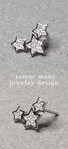 Sterling Silver CZ Star Stud Ear Climber Birthday Gifts For Best Friend, Best Friend Gifts, Star Earrings, Silver Hoop Earrings, Thanksgiving Gifts, Wire Wrapped Earrings, Climbers, Instagram Fashion, Fashion Accessories