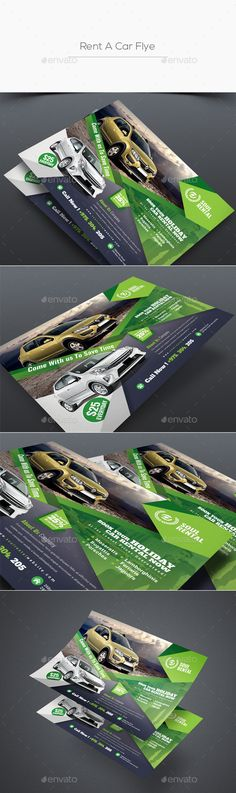 Rent A Car Flyer - Corporate Flyers Postcard Printing, Business Flyer Templates, Corporate Flyer, Photoshop Cs5, Flyer Design, Flyers, Design Ideas, Nice, Products