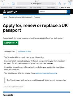Overseas British Passport Applications  GovUk  Passport