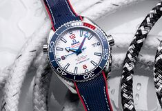 Omega, New America's Cup Timekeeper, Celebrates with Seamaster Planet Ocean Limited Edition | WatchTime - USA's No.1 Watch Magazine