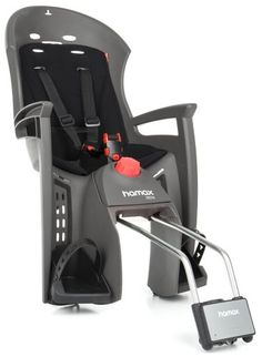 Hamax Siesta je samonosná polohovací sedačka suzamykatelným zámkem nosných tyčí. Uchycení za sedlem bez nutnosti použití nosiče.