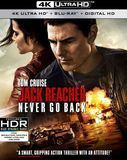 Jack Reacher: Never Go Back [Includes Digital Copy] [4K Ultra HD Blu-ray/Blu-ray] [2016]