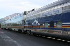 This is just a part of the train we took from Fairbanks Alaska to Denali National park