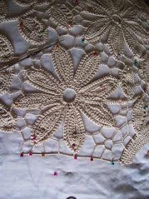 Graficos y Crochet: Vestido Crochet Irlandes