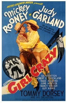 Girl Crazy.(1943) Mickey Rooney Judy Garland