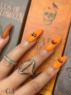 Halloween pumpkin jack o lantern press on nails Press on nail | Etsy Coffin Nails, Acrylic Nails, Halloween Press On Nails, Pumpkin Jack, Jack O, Glue On Nails, Halloween Pumpkins, You Nailed It, Lantern