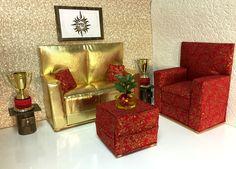 pinkrosemh Couch Möbel für Barbie Puppenstube Monster Puppe 30cm High Jinafire in Spielzeug, Puppen & Zubehör, Mode-, Spielpuppen & Zubehör   eBay