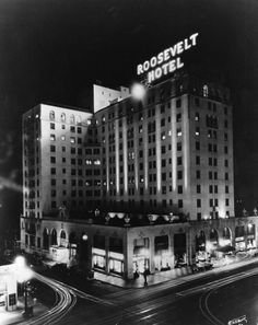 Hollywood Roosevelt - 1930