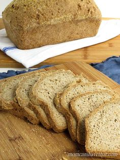 The Best Psyllium-Flax Bread | Mom, Can I Have That? AMAZING! A LOW CARB BREAD THAT LOOKS LIKE THE REAL THING AND TASTES LIKE HOMEMADE SOURDOUGH BREAD. THIS IS THE BEST PSYLLIUM-FLAX BREAD I HAVE HAD. BUT EVEN BETTER, IT'S LOW IN CARBS, GLUTEN-FREE, DAIRY-FREE, PALEO AND KETO. CAN YOU BELIEVE IT?