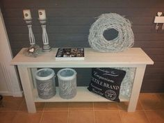 Wood / Pallet, entry hall side table