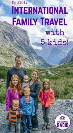[Podcast] Working online & international family travel with five kids   Working online. Living in Alaska, Mexico, and beyond. Plus plenty of international family travel with five kids. These are just a few of the topics covered in today's episode of Epic Education radio.