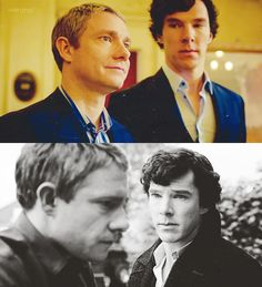 Sherlock. The way you look at him when you think he can't see you.