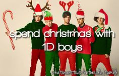 Bucket List: Spend Christmas with One Direction