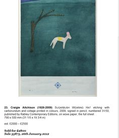Craigie Aitchison etching Flag, Country, Dogs, Art, Art Background, Rural Area, Pet Dogs, Kunst, Doggies