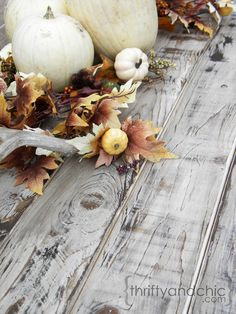 DIY Weathered Wood finish using white paint and Minwax Dark Walnut stain -  Step-by-Step Tutorial