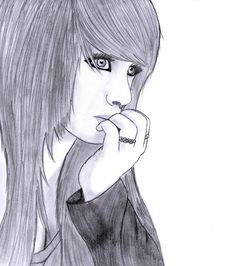 Scene Girl Drawing 5 by Conor332211.deviantart.com on @deviantART