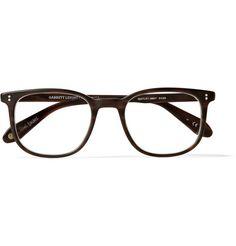 Garrett Leight California Optical Bentley D-Frame Matte-Acetate Glasses | MR PORTER
