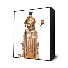 Mr. Benson Mini Art Block, $26, now featured on Fab.