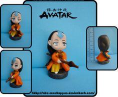 Avatar Yangchen chibi figure by Nko-ennekappao