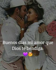 I love you ❤😘😘 Romantic Spanish Quotes, Romantic Love, Gods Love Quotes, Amor Quotes, Love Qutoes, Gentleman Quotes, I Love You, My Love, Good Morning Love