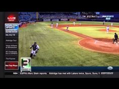 ESPN SportsCenter's Not Top Ten – 07-03-15  Vote for the Worst of the Worst every Friday: http://www.sportscenter.com ESPN SportsCenter's Not Top Ten for July 03, 2015 10. The sprinklers turn on in the middle of the Sporting Kansas City and Colorado Rapids match. Apparently it...