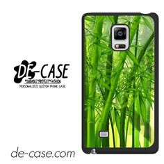Green Bamboos DEAL-4841 Samsung Phonecase Cover For Samsung Galaxy Note Edge