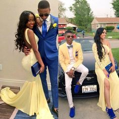 Boho Prom Dresses, Lace Prom Dress ,Open Back Prom Dress , Formal Prom Dress, you be the star of your own prom by offering you hundreds of options for your perfect 2020 prom dress! Black Girl Prom Dresses, Open Back Prom Dresses, Cute Prom Dresses, Party Dresses, Yellow Prom Suit, Blue Suits, Women's Suits, Prom Outfits For Guys, Prom Suits For Men