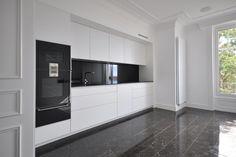 Rénovation #cuisine appartement Montreux