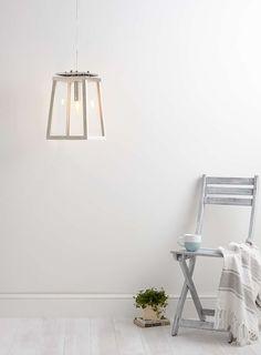 Photo 4 Of White Manila Ceiling Pendant Light