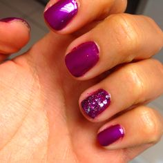 Nails and glitter!