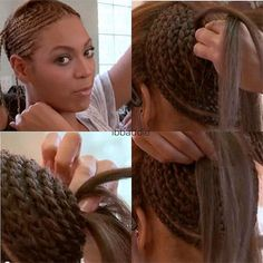 "Beyonce wears weave, It's funny how most women thought she ""cut"" her hair. When really she took out her lace front. She should embrace her hair, its gorgeous !! Just saying"