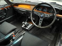 1972 BMW 3 0 CSL UK-spec (E-9) cla