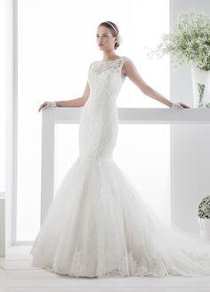 Moda sposa 2014 - Collezione JOLIES.  JOAB14012IV. Abito da sposa Nicole.