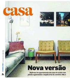 Projeto Lucia Manzano | Arquitetura + Paisagismo | Capa Caderno Casa Estadão 19.04.2015