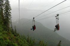 World's longest zipline in Alaska