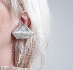 crocodile rock vintage geometric earrings
