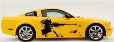 Anime car decal anime auto anime anime by BeaCreativeDesigner