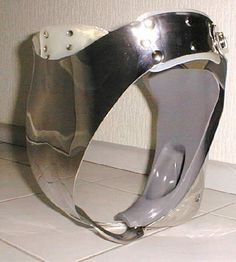 "female-chastity-belts: "" female-chastity-belts.tumblr.com: Female chastity belts, cages, and all sorts of other chastity devices. If female chastity is your thing, you're at home. "" NOT FOR A FEMALE -..."