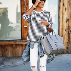Tie a sweater around your waist or shoulders. | 19 Surprisingly Easy Ways To Look Put Together