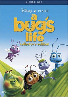Disney Movie A Bug's Life Two Disc Collectors Edition DVD