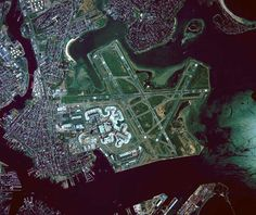 """Aeroporto Internacional de Boston"". #Boston. Massachusetts, USA."