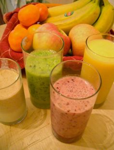 10 Juices and Smoothies to Boost Your Energy - Click for recipes