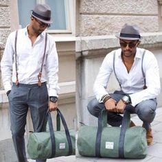 camisa tirantes Suspenders Fashion, Mens Fashion Suits, Classic Outfits, New Outfits, Stylish Men, Men Casual, Men Closet, Fashion Essentials, Wedding Men