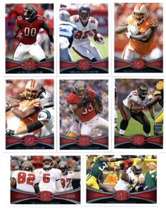 2012 Topps Tampa Bay Buccaneers Complete Team Set Sealed  13 cards including Josh Freeman Benn Blount Doug Martin RC Clayborn David RC LeGrand RC Barron RC Vincent Jackson and more -- You can find more details by visiting the image link.
